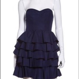 Navy Rebecca Taylor dress